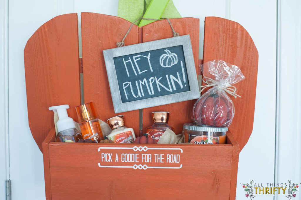 Guest Bedroom Pumpkin Goodie Basket (14 of 14)