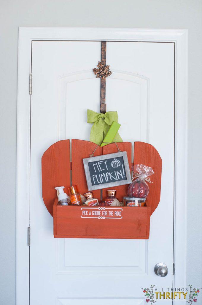 Guest Bedroom Pumpkin Goodie Basket (2 of 14)