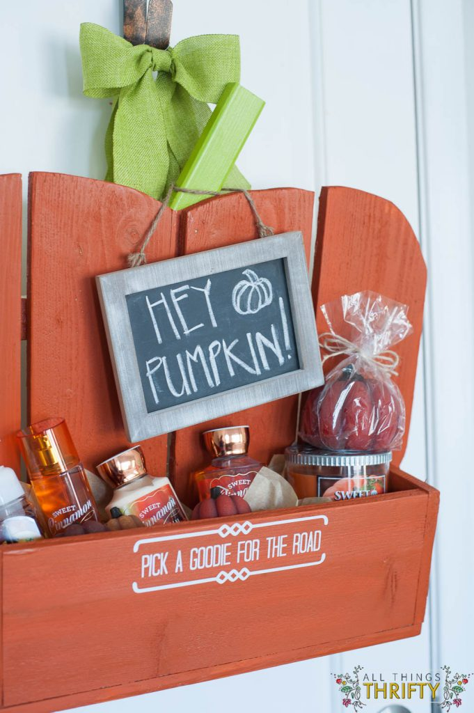 Guest Bedroom Pumpkin Goodie Basket (5 of 14)