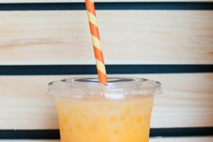 Kid Friendly Candy Corn Cooler