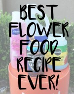 DIY Flower Food Recipe that will Change Your Life.