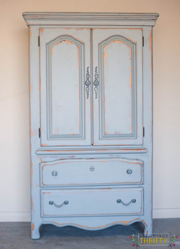 How To Distress Furniture With Paint And Wax