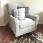 Chalk Paint Upholstery with a Sprayer