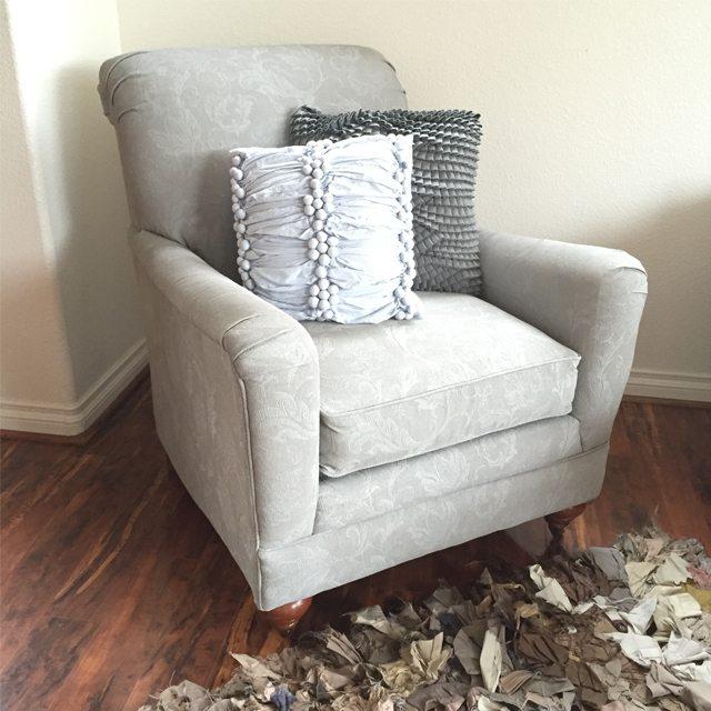 Sprayed Upholstery 10