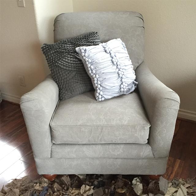 Sprayed Upholstery 10b