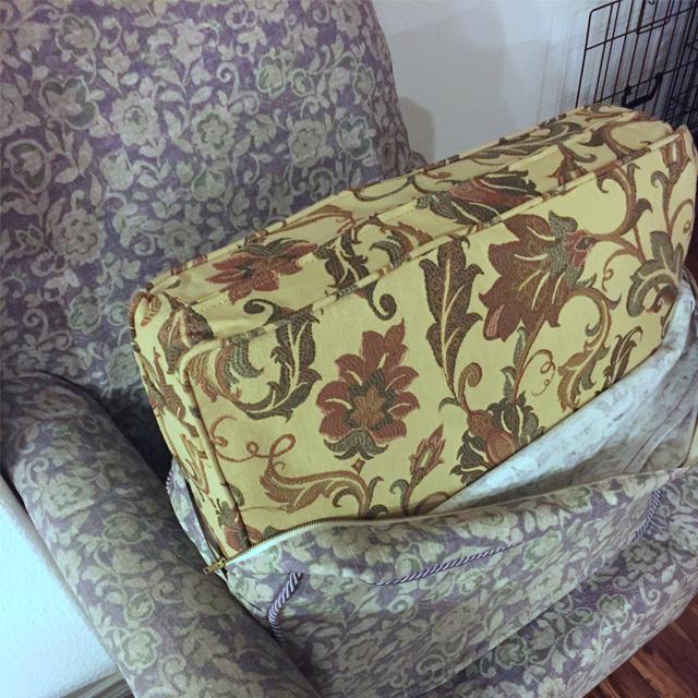 Sprayed Upholstery 2