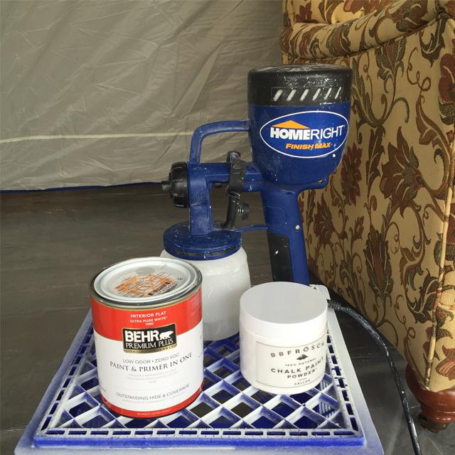 Sprayed Upholstery 4