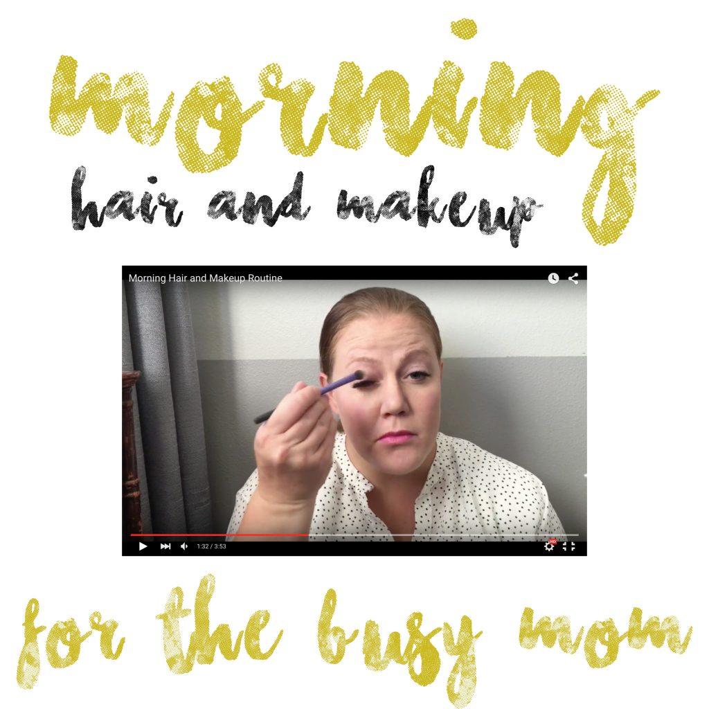 morning makeup routine