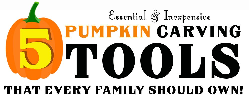 pumpkin carving tools every family should own
