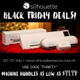 SILHOUETTE BLACK FRIDAY DEAL STARTS EARLY!