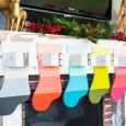 Wooden Colorful Stockings DIH Workshop