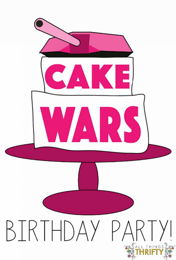 cake wars bday party