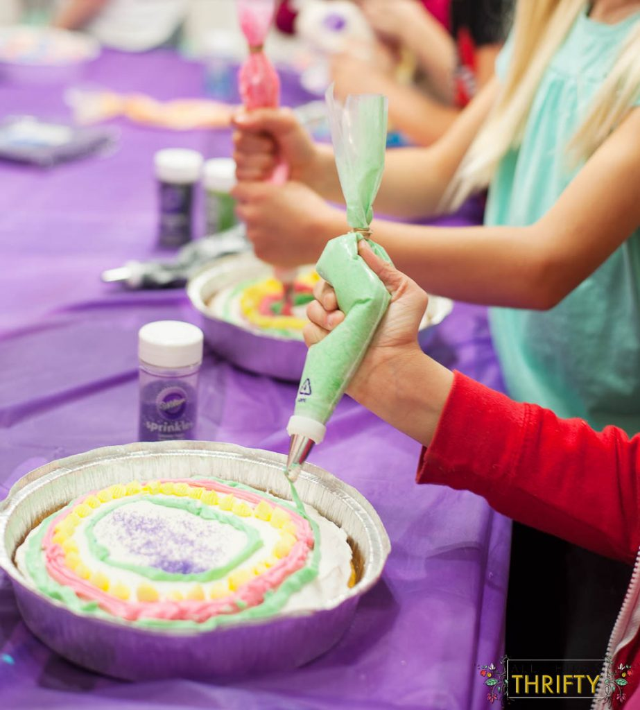 cake wars decorating party ideas