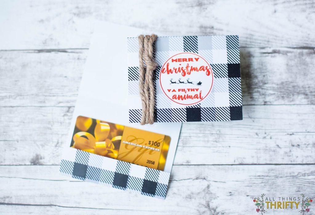 Free Printable Christmas Gift Card Holders – Free Printable Christmas Gift Certificate
