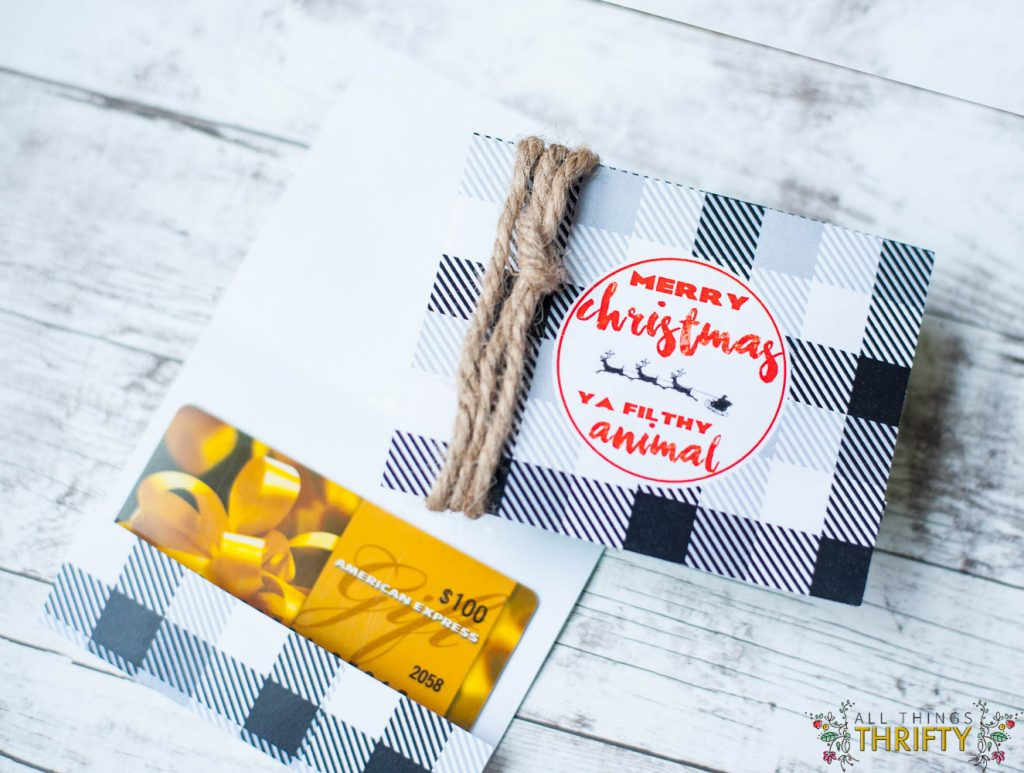 Free Printable Christmas Gift Card Holders All Things
