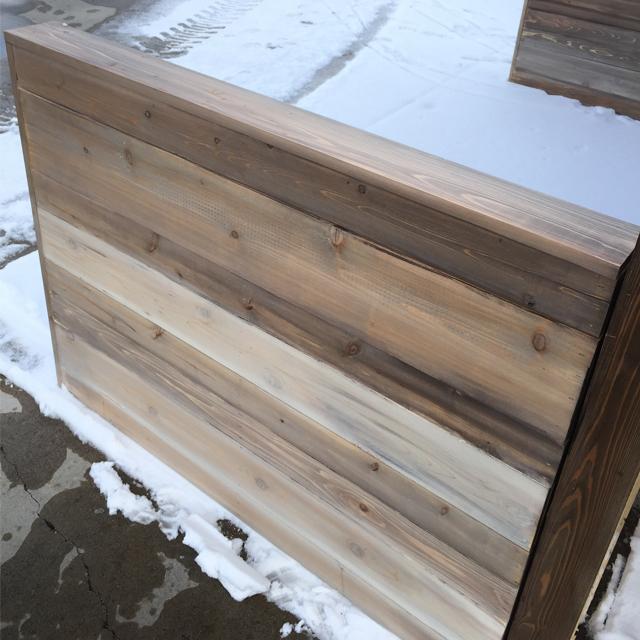 ATT Faux Stain Plank Wall 10