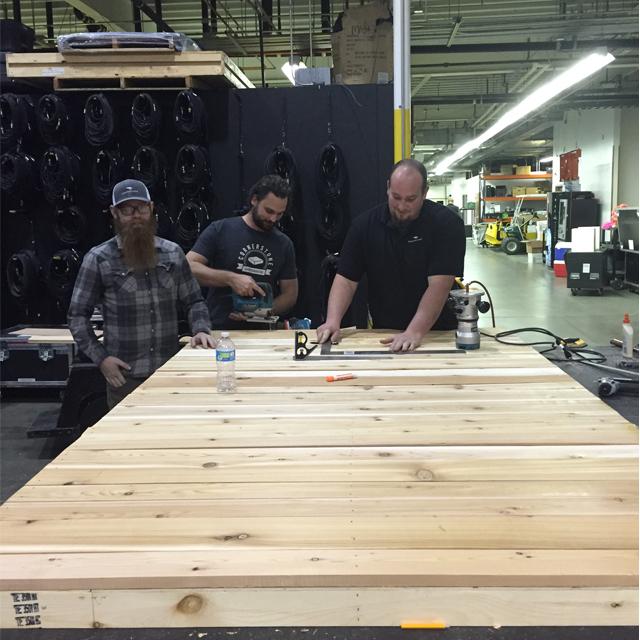 ATT Faux Stain Plank Wall 2