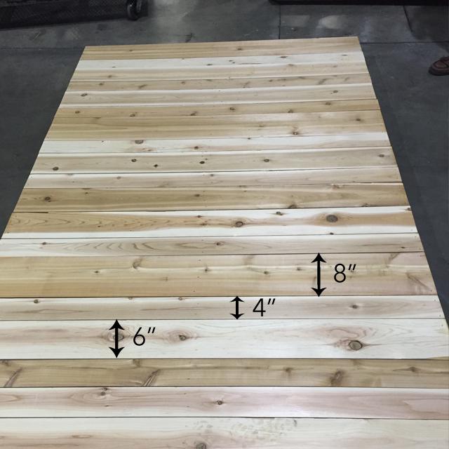 ATT Faux Stain Plank Wall 3