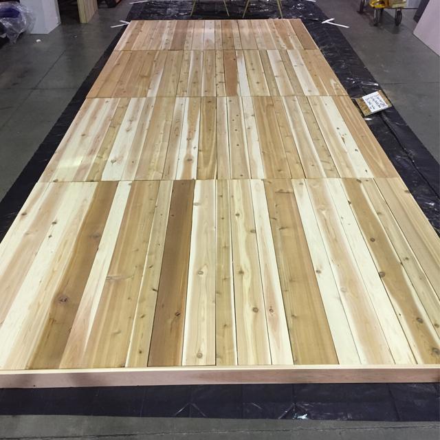 ATT Faux Stain Plank Wall 4
