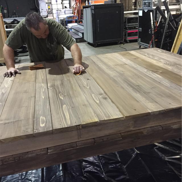 ATT Faux Stain Plank Wall 6
