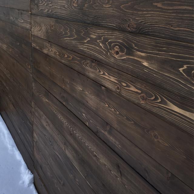 ATT Faux Stain Plank Wall 9