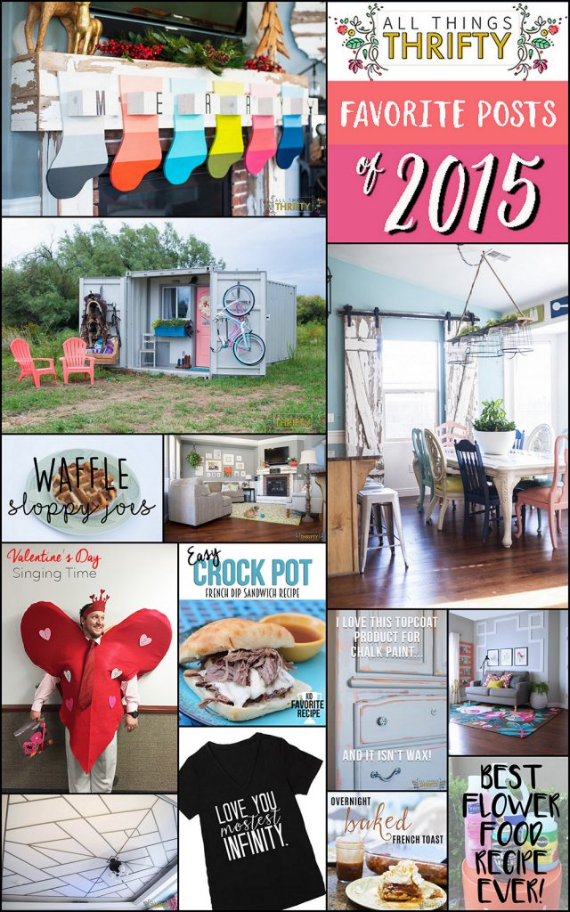 All Things Thrifty Best Projects of 2015