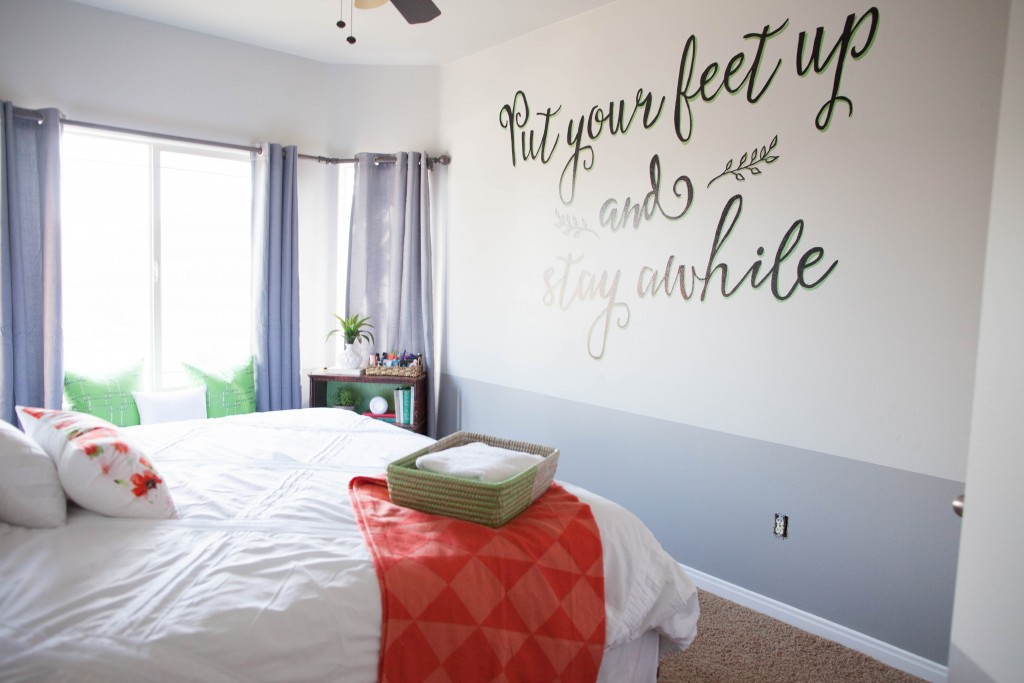 Guest Room Reveal All Things Thrifty