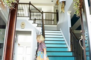 Ombre stairs. Introducing ALL THINGS COLOR feature series.