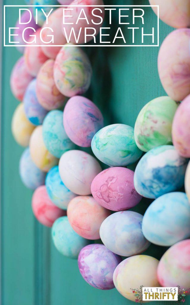 Easter Egg Wreath DIY-2