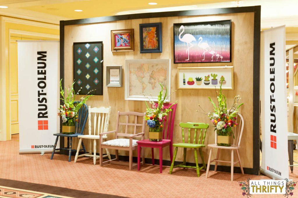 Blush, Navy, Yellow Living Room LOVE-1