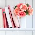 Colorful Farmhouse Style Shelves