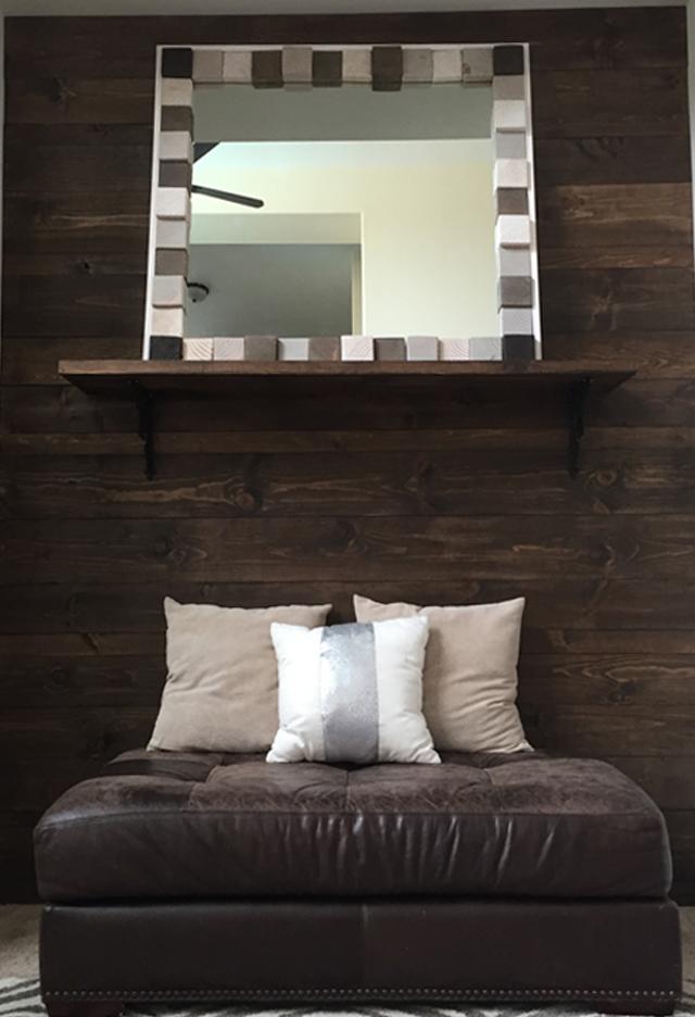 Scrapwood Mirror 18