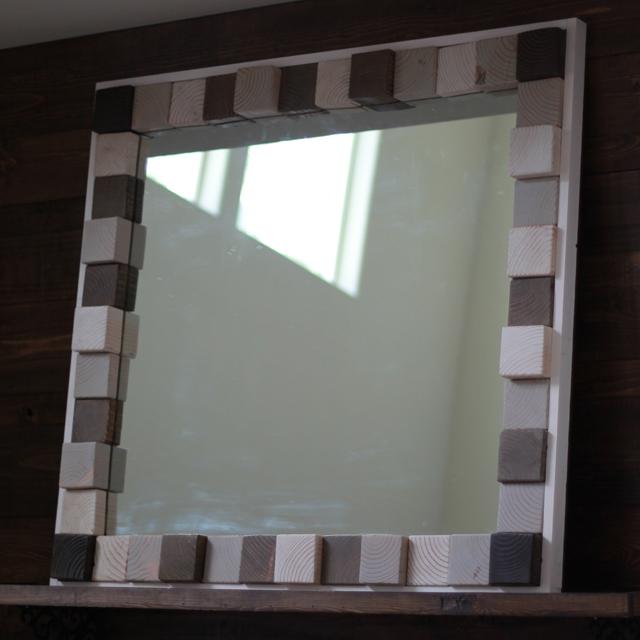 Scrapwood Mirror 21