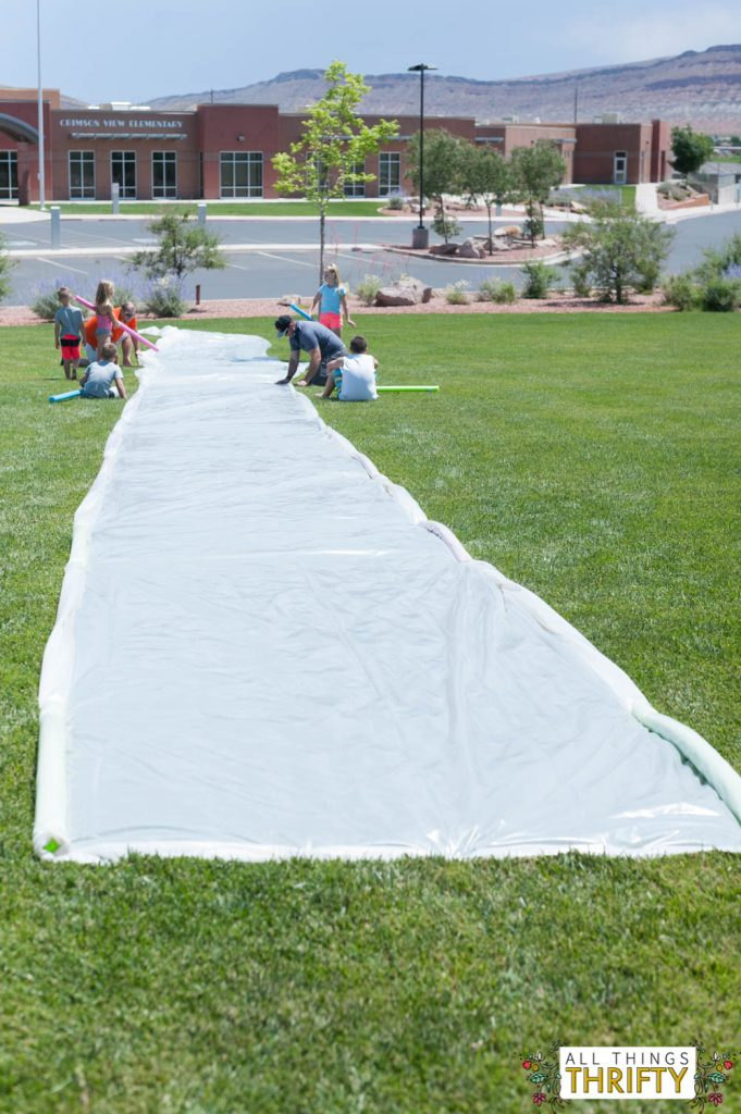 How To Build A Huge Slip N Slide Fun For All Ages