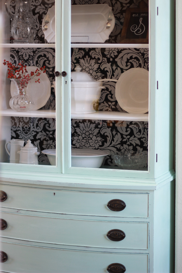 Fabric Backed Hutch 13