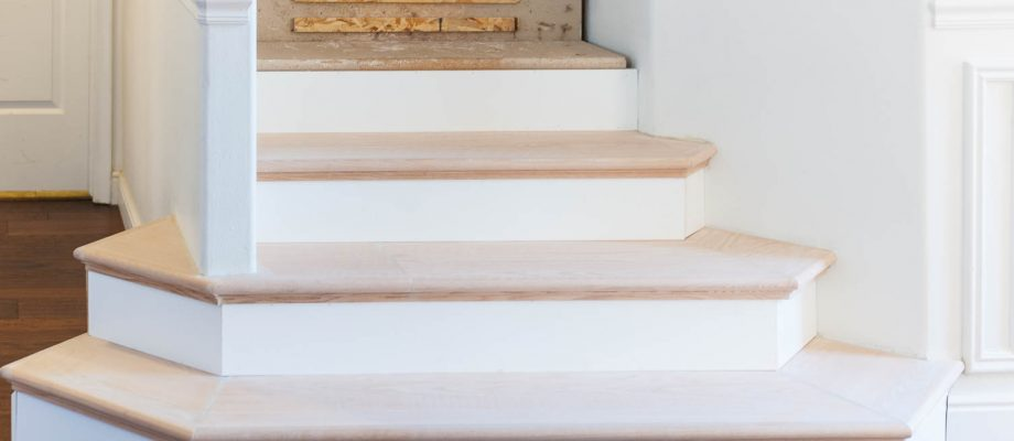 New Wooden Stair Treads REVEAL…FINALLY!
