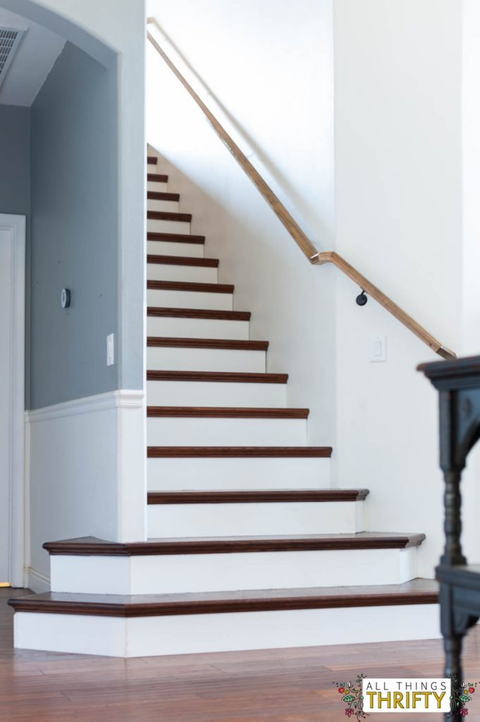 Stair Tread Makeover and Instructions
