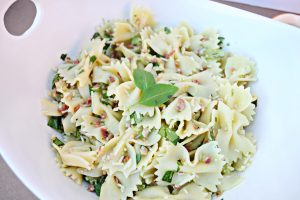 The Perfect Summer Salad: Fresh Basil Pasta