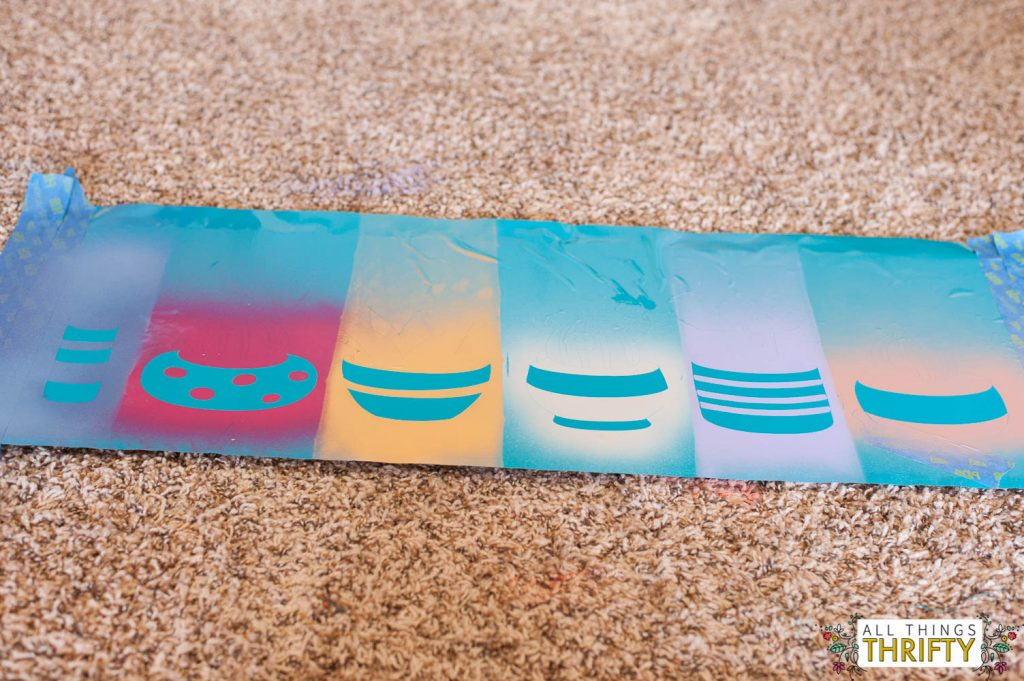 how to create artwork with spraypaint and vinyl