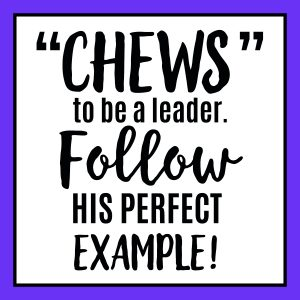 Chews to be a leader purple