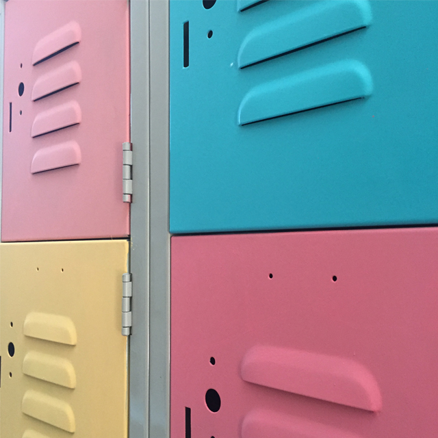 Metal Locker Makeover 6
