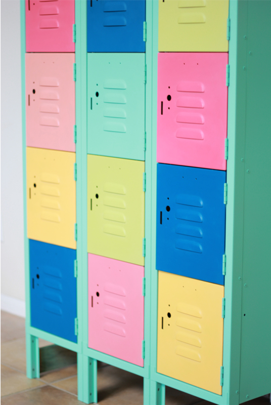 Metal Locker Makeover 8