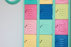 Metal Locker Makeover
