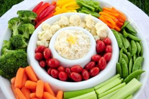 The Most Delicious Veggie Dip Ever