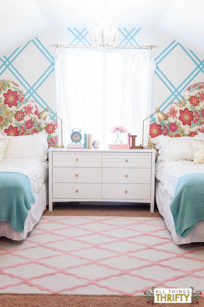 girls tween bedroom ideas pink and turquoise and gold 16 16695 | girls tween bedroom ideas pink and turquoise and gold 16