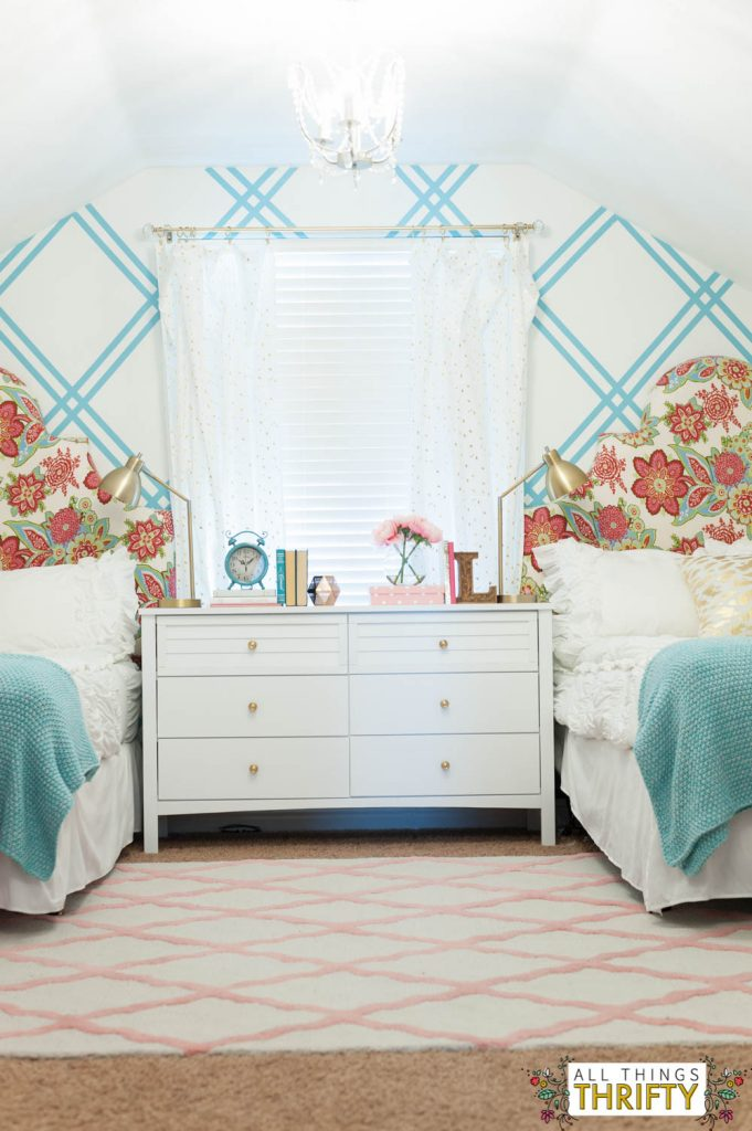 S Tween Bedroom Ideas Pink And Turquoise Gold 7