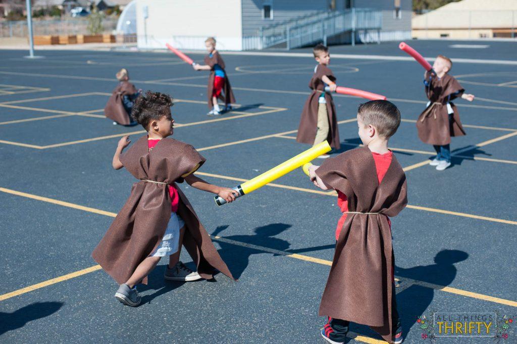 Jedi Training Course Star Wars Birthday Party Ideas