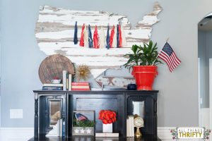 Red, White, and Blue Patriotic Decor