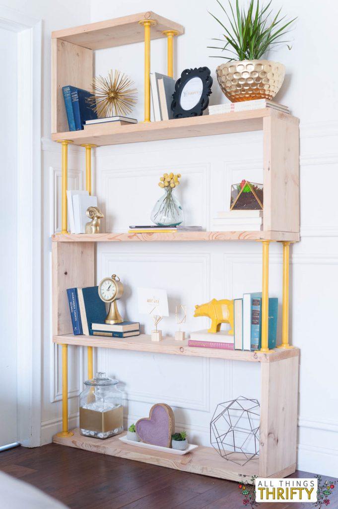blush-navy-yellow-master-bedroom-refresh-11