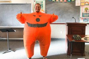 LDS Primary Chorister Halloween Idea